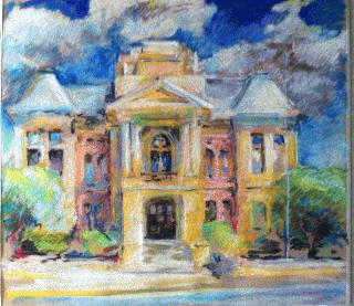 Courthouse Painting