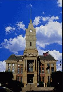 Courthouse Clocktower Drawing