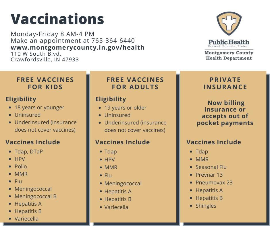 Nursing & Immunizations / Montgomery County, IN